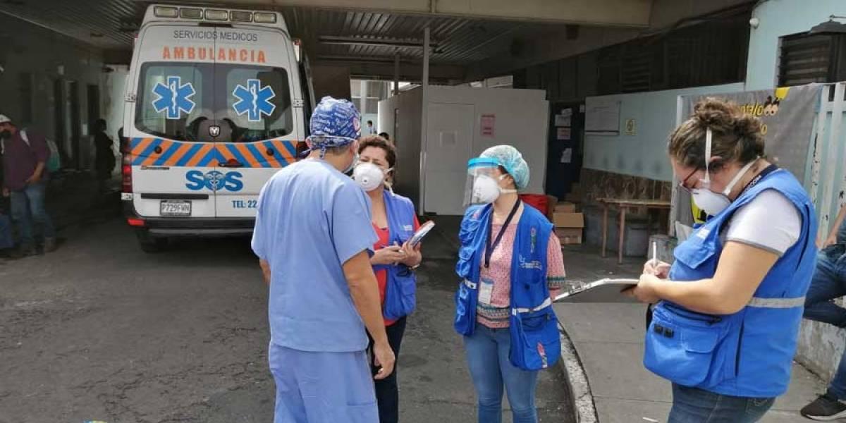 VIDEO. PDH confirma varios pacientes con Covid-19 en el Hospital San Juan de Dios