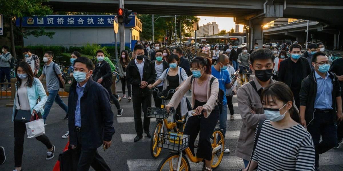Uso de máscara deixa de ser obrigatório em Pequim