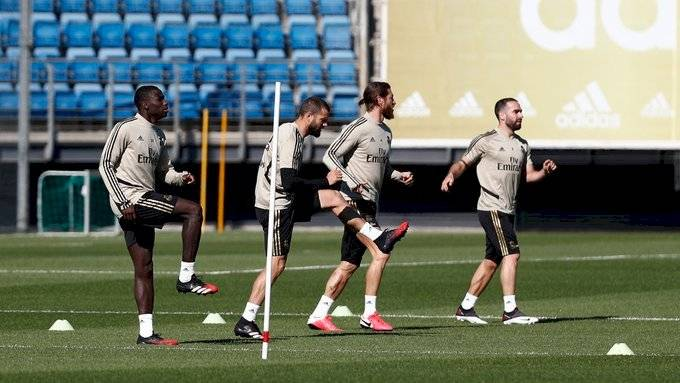 Real Madrid inició con los entrenos grupales desde este lunes