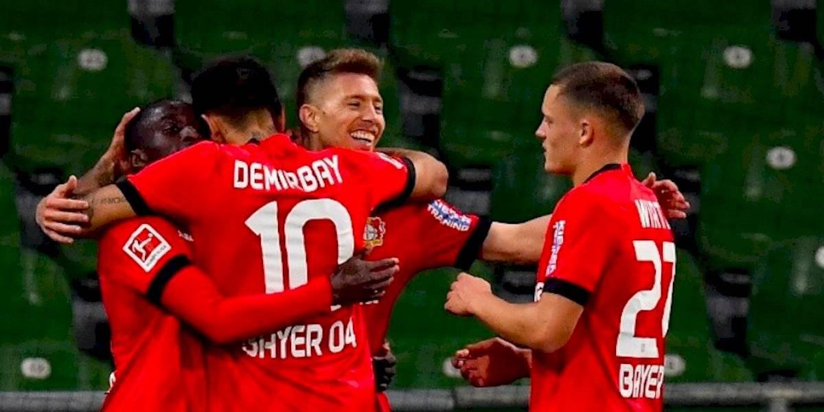Con un doblete de Havertz el Bayer Leverkusen golea en su visita al Werder Bremen