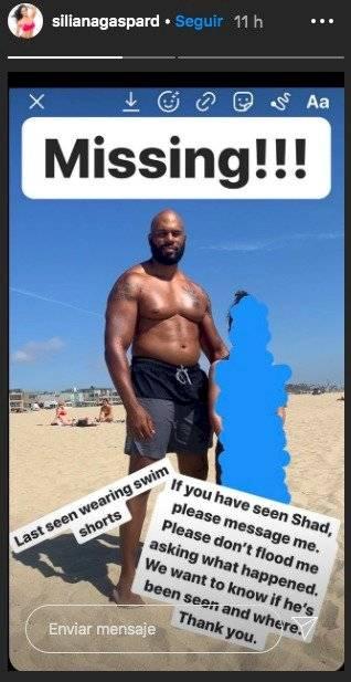 Shad Gaspard desaparece mientras nadaba en el mar