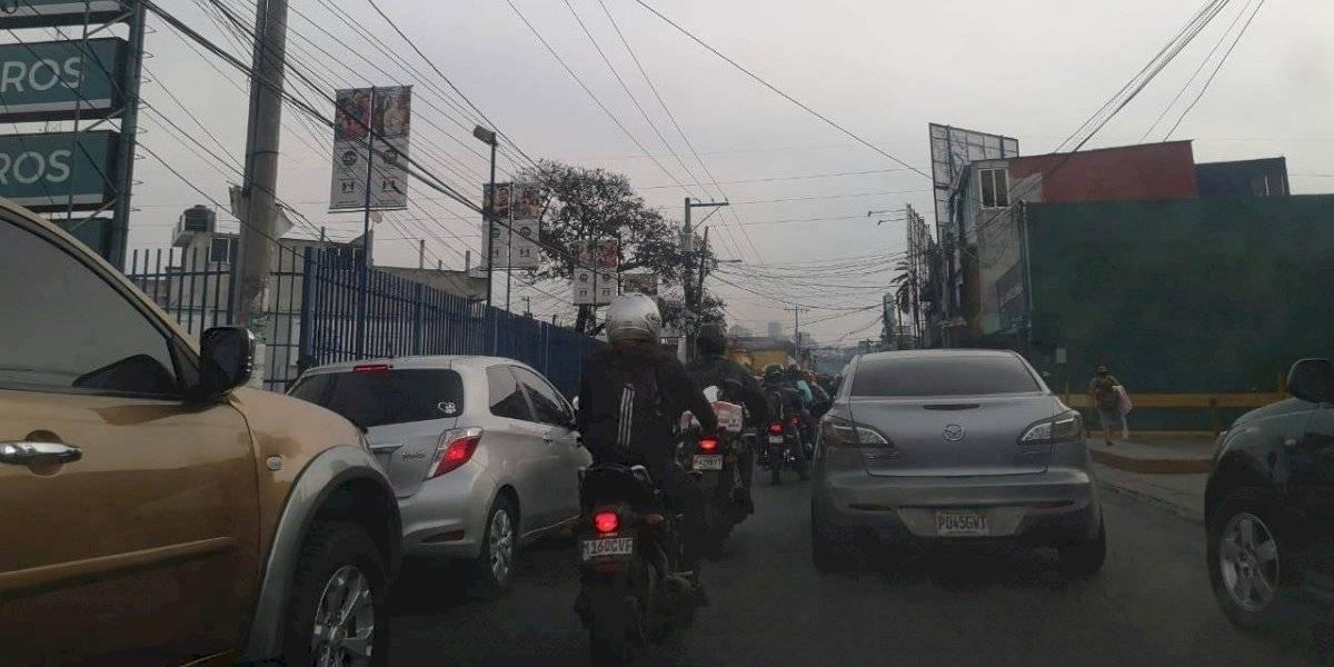 Alta carga vehicular tras toque de queda prolongado