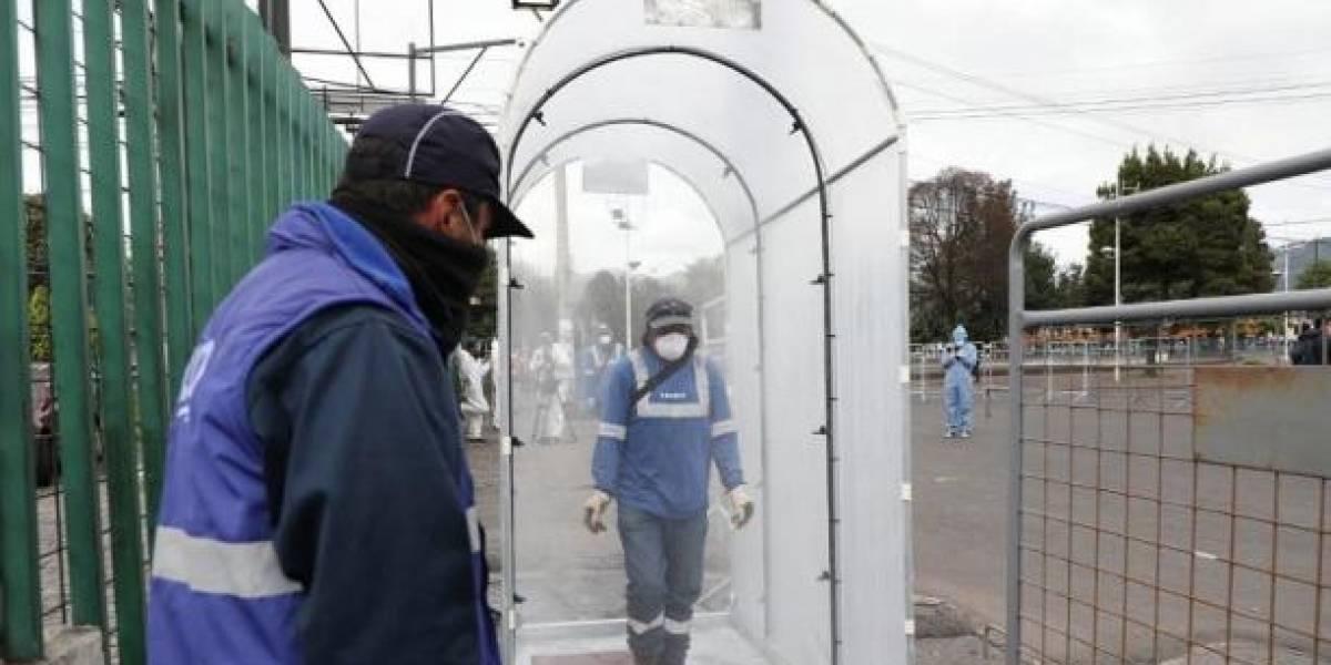 El COE no aconseja el uso de túneles de desinfección