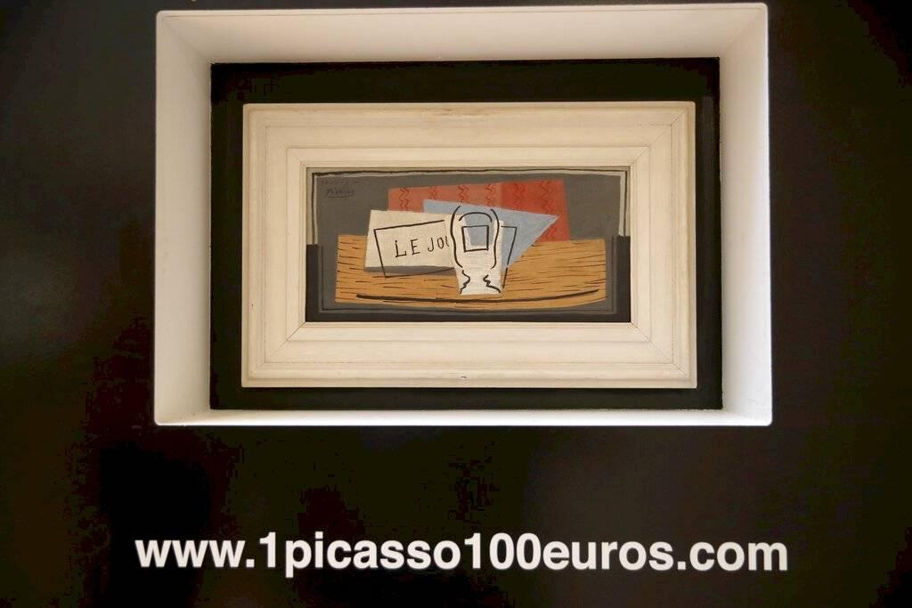 Picasso en su pared