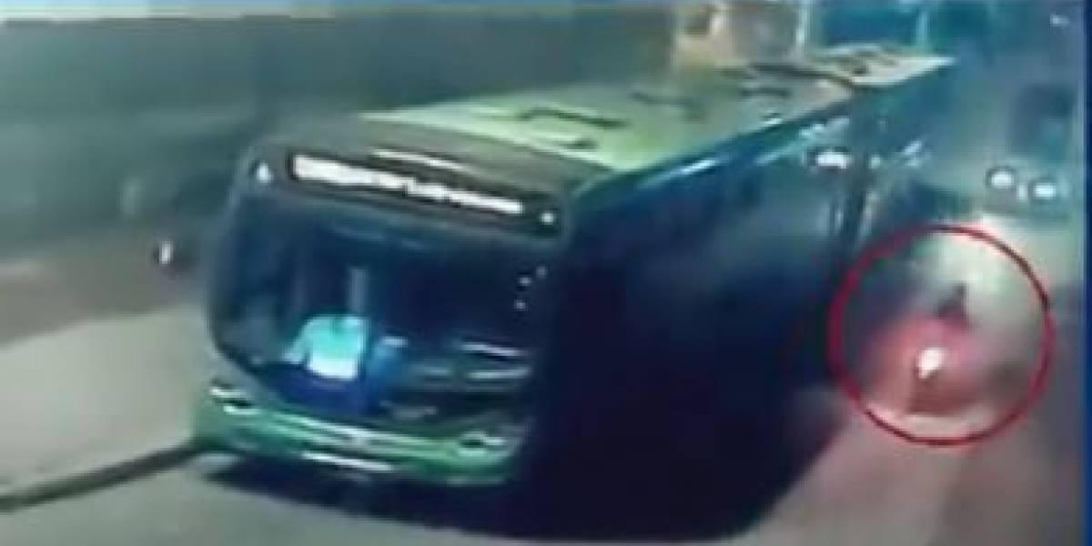Capturan al conductor de un camión que arrolló a un motociclista y lo abandonó