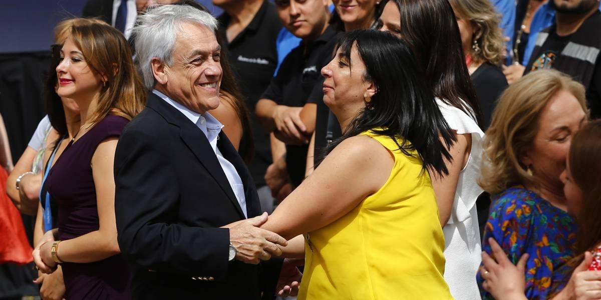 """Karla Rubilar asegura que """"nuestra principal preocupación es que el Presidente no se enferme"""""""