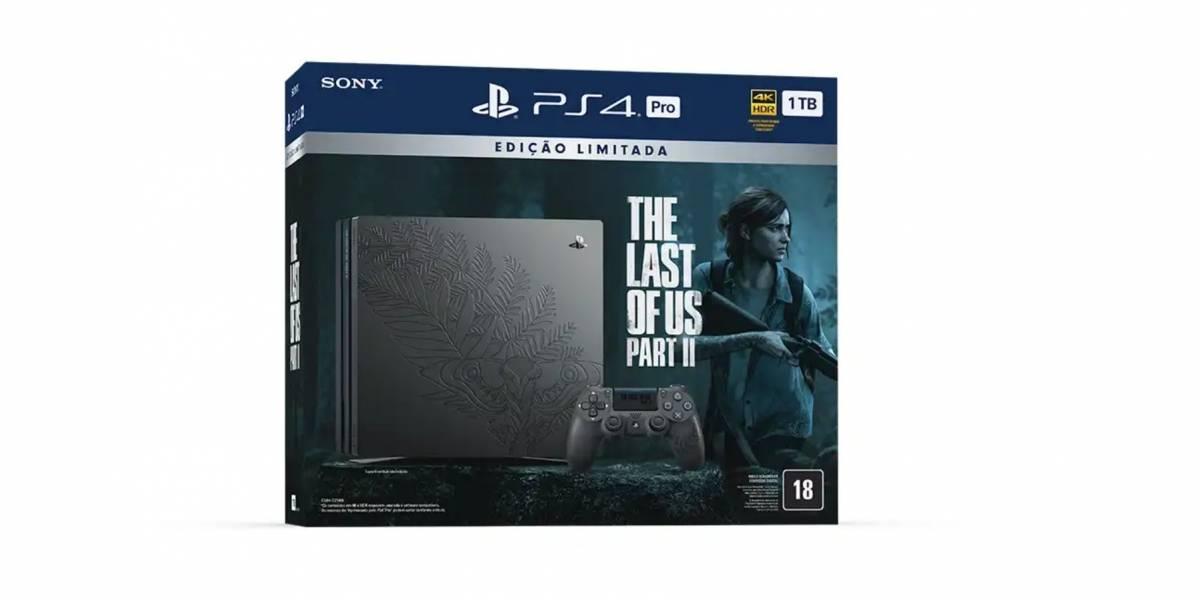 'Mega Pack PlayStation 4 Pro' terá edição limitada deThe Last of Us Part II