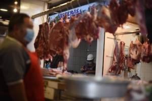 Carnicería en el Mercado La Milagrosa