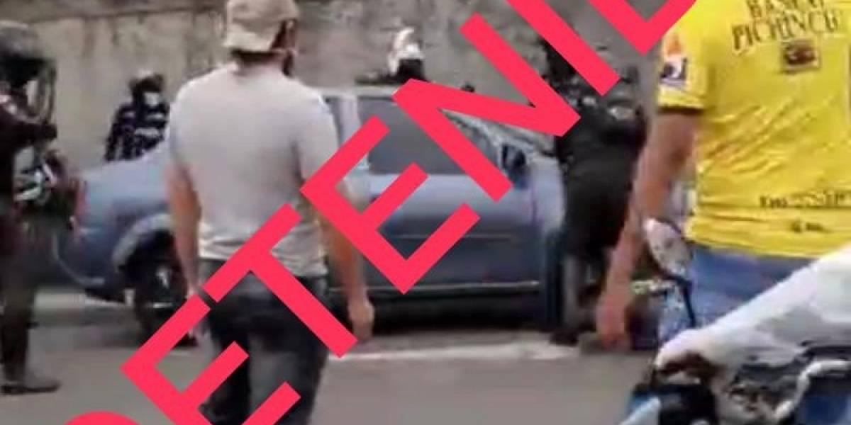 Conductor atropelló a un policía cuando intentaba huir en Guayaquil