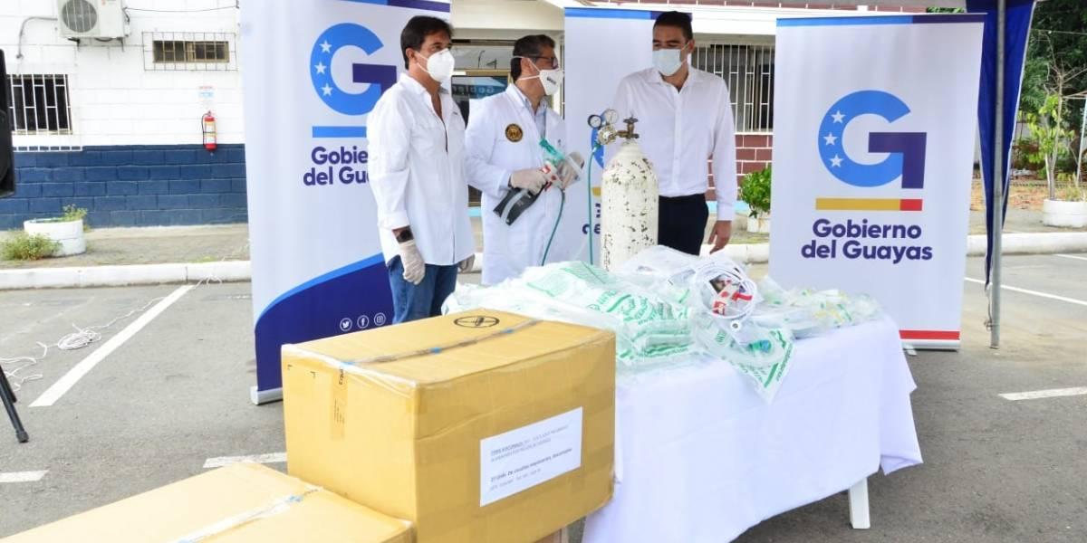 Gobierno del Guayas entregará ventiladores neumáticos a hospitales de la provincia