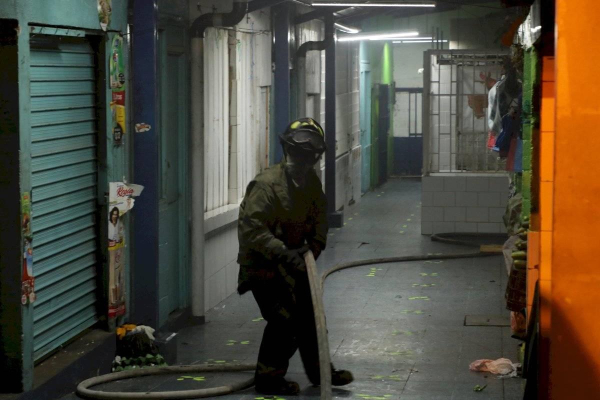 incendio en mercado Santa Fe, zona 13