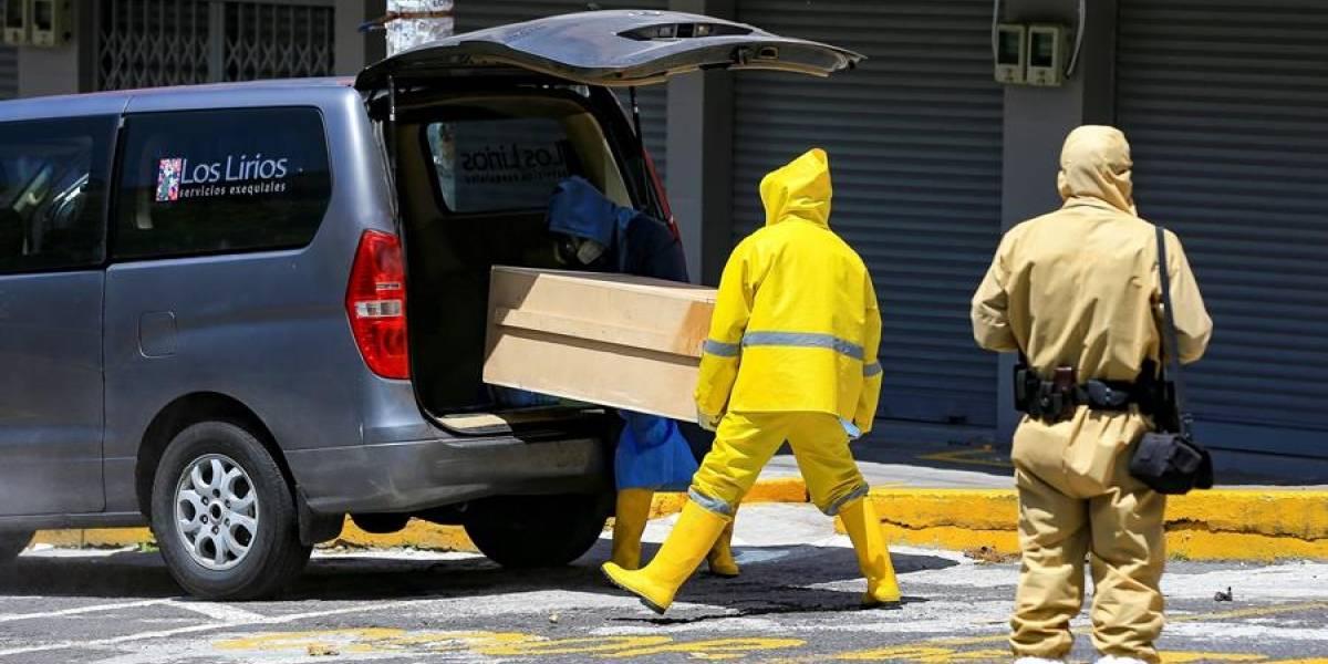 Quito registra 761 defunciones en lo que va de mayo de 2020