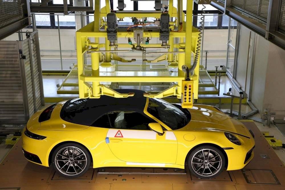 Porsche Behind the Scenes