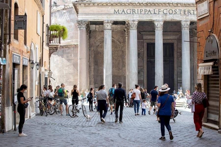 Roma reabre sus museos sin turistas-EFE