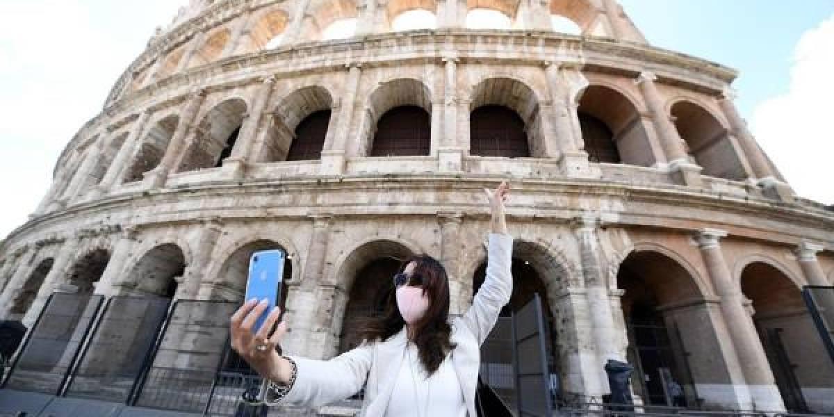 La extraña soledad de la Loba capitolina: Roma reabre sus museos sin turistas