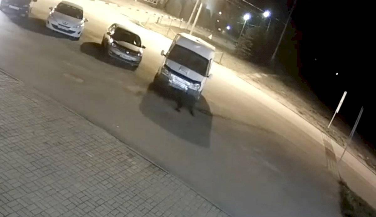Oso se pasea por las calles de Rusia y ataca a hombre