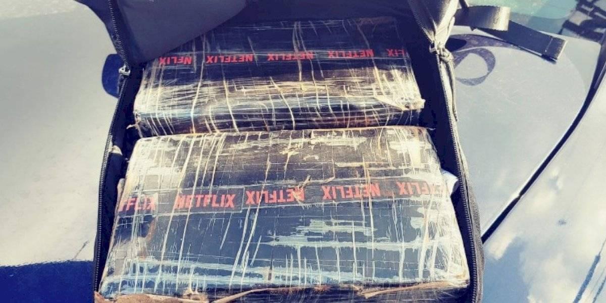 Ocupan dos kilos de cocaína a dos sujetos en San Juan