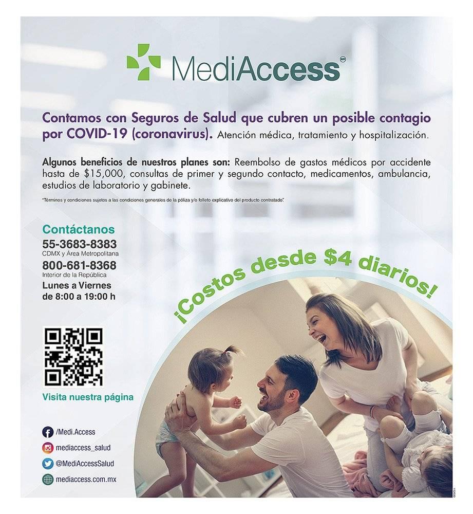 Anuncio Medi Access edición CDMX del 20 de mayo del 2020, Página 03