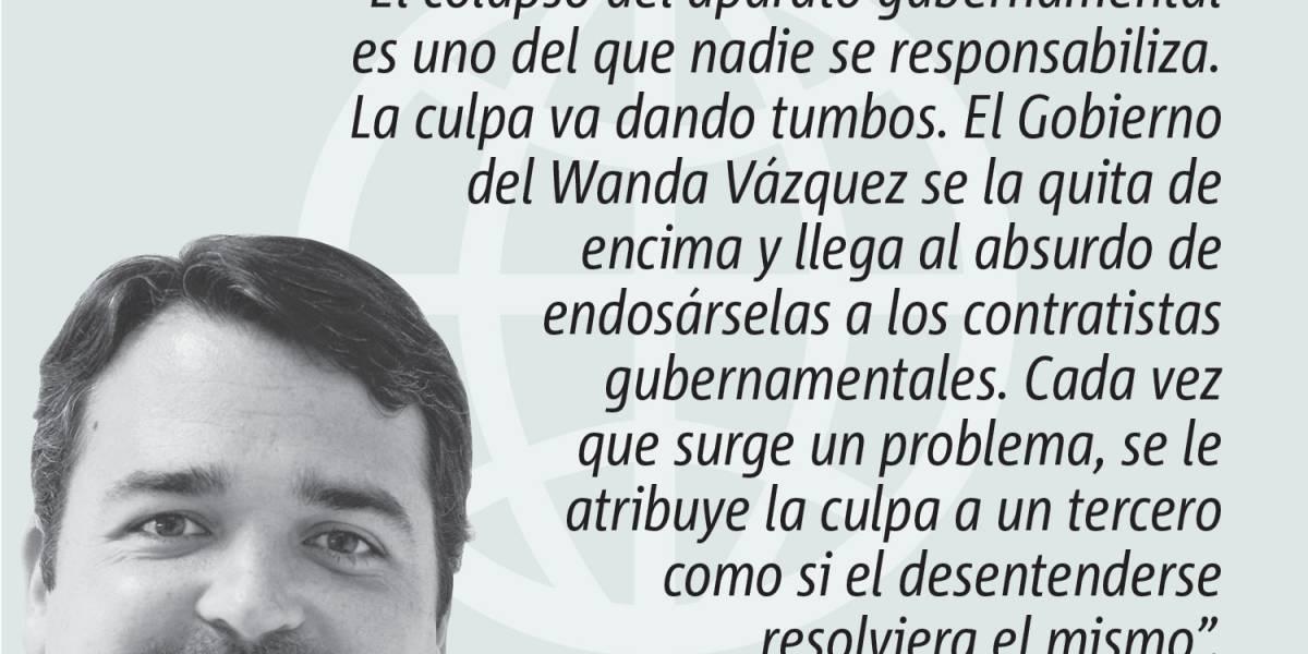Opinión de Alejandro J. Figueroa: La culpa es huérfana