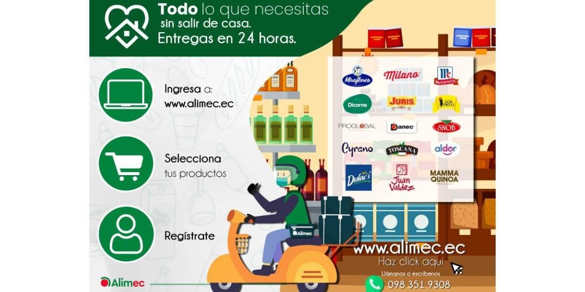 Alimec Delivery: el carrito de compras que tiene lo que necesitas
