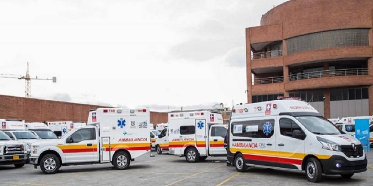 ¡ATENCIÓN! Se desplomó el segundo piso de un supermercado en Bogotá