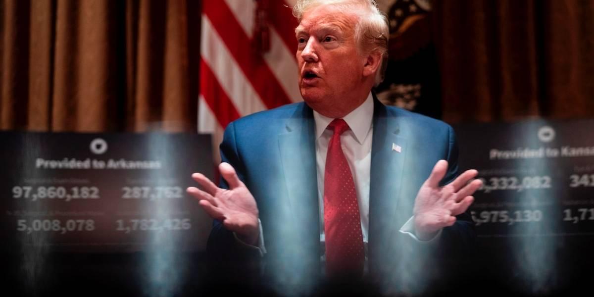 Trump pide mano dura contra protestas y ofrece enviar Ejército