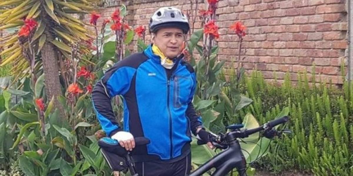 (VIDEO) Recuperan bicicleta que le habían robado a Jorge Celedón en Bogotá