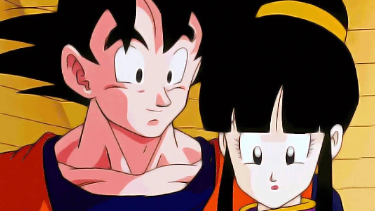 Milk y Goku