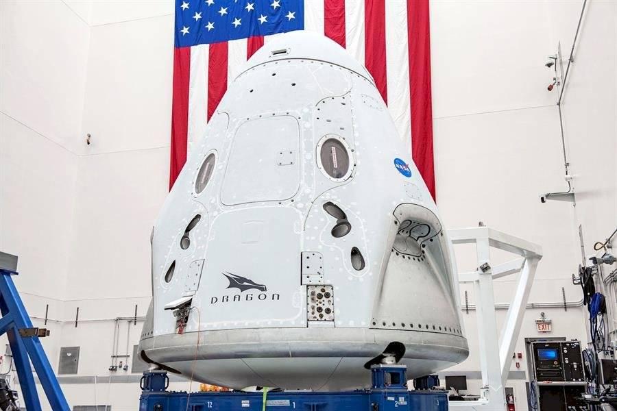 Preparación de lanzamiento de astronautas - EFE