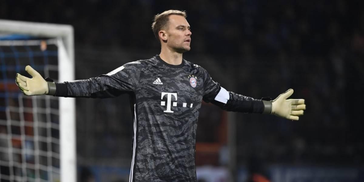 Manuel Neuer renueva su contrato con el Bayern Münich hasta 2023