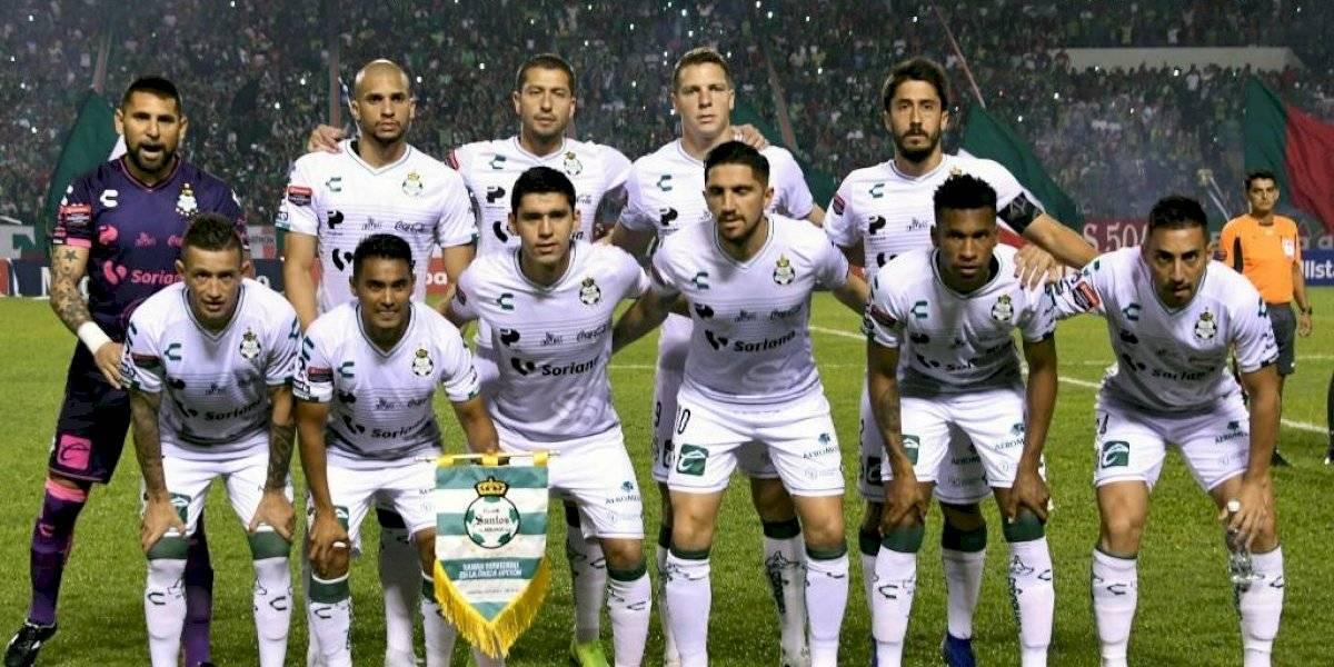 Ocho jugadores del Santos de México infectados de coronavirus