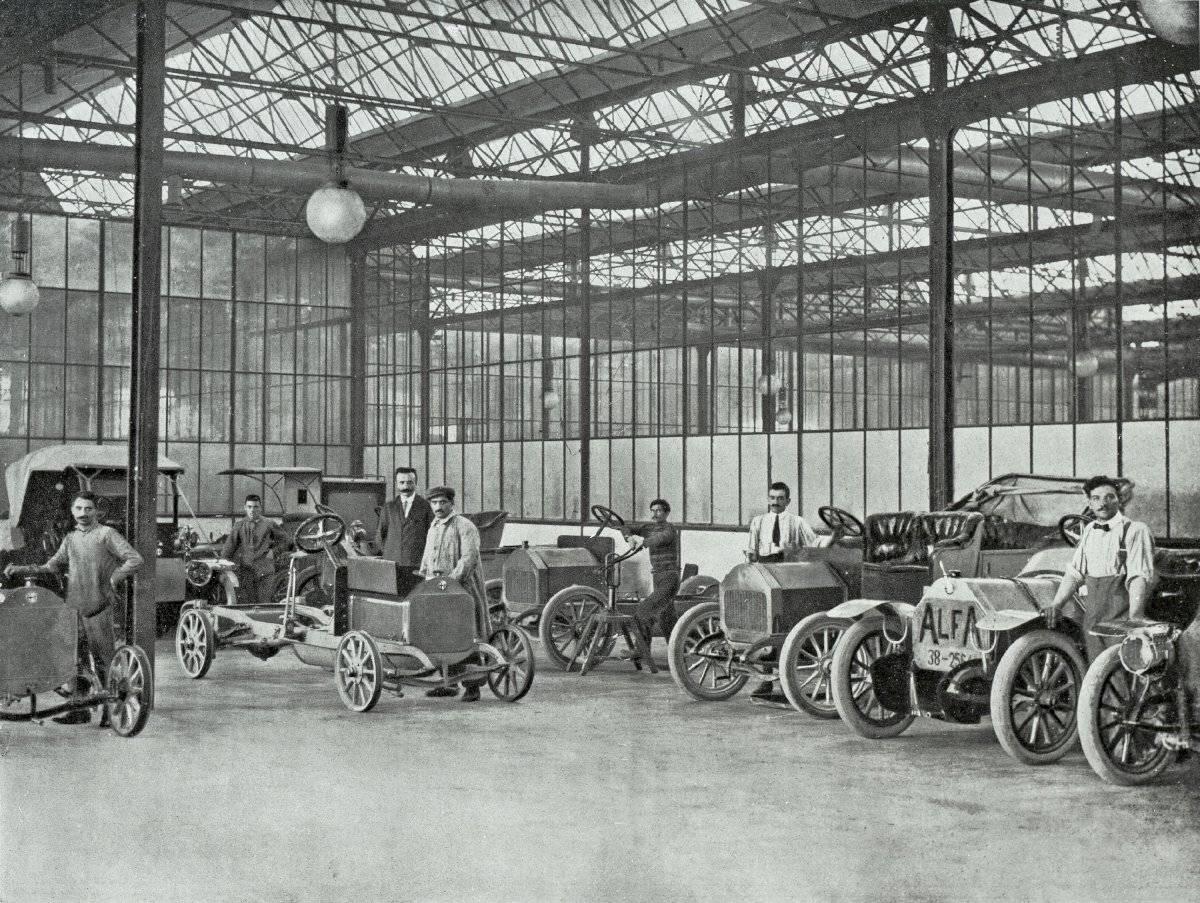 A.L.F.A. – Anonima Lombarda Fabbrica Automobili