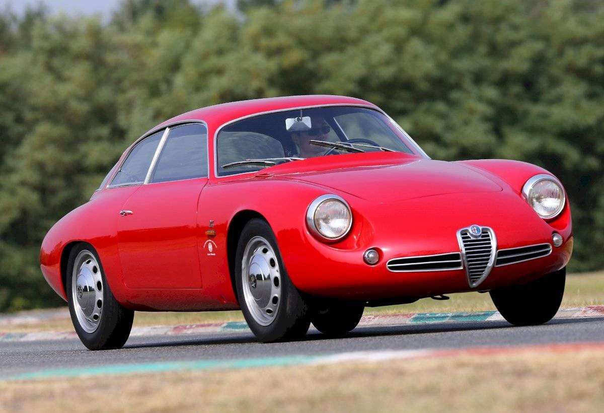 1960 Alfa Romeo Giulietta SZ Coda tronca