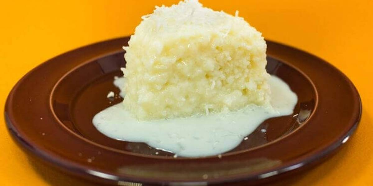 Recipe: how to make a piece of food with a mixture of 4 kinds of milk