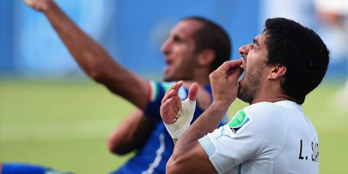 ¡Rompió el silencio! Chiellini le envió un mensaje a Suárez por el mordisco del Mundial 2014