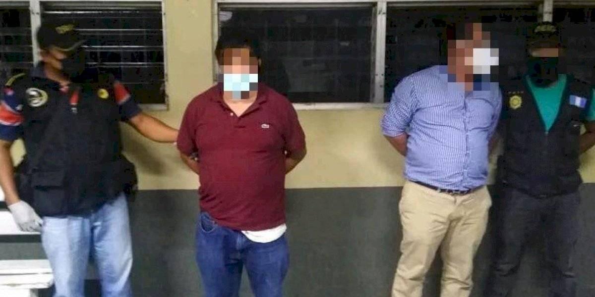 PNC captura al exembajador Marvin Mérida durante el toque de queda