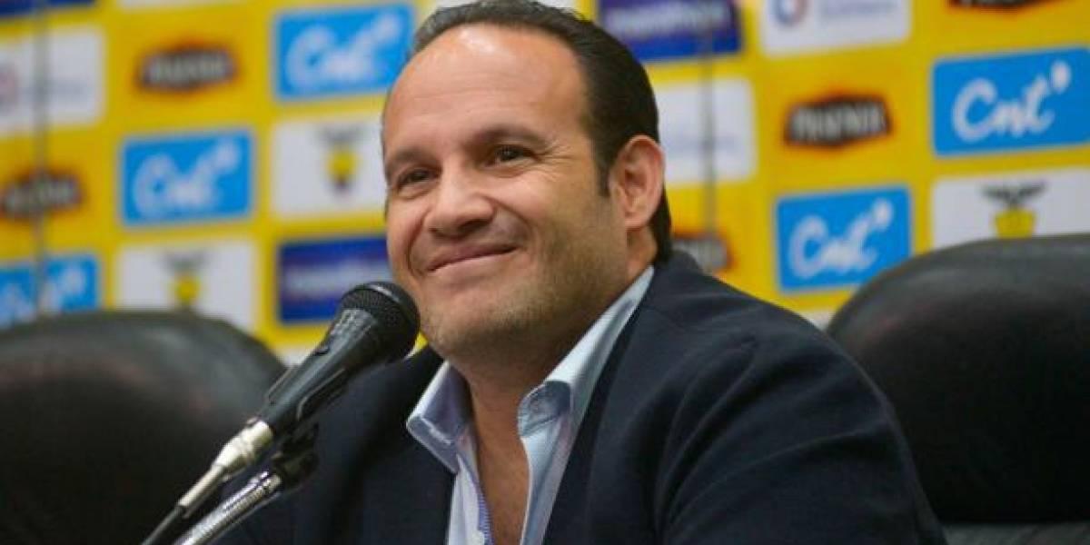 Francisco Egas seguirá al frente de la FEF: 16 clubes y 10 asociaciones lo respaldan