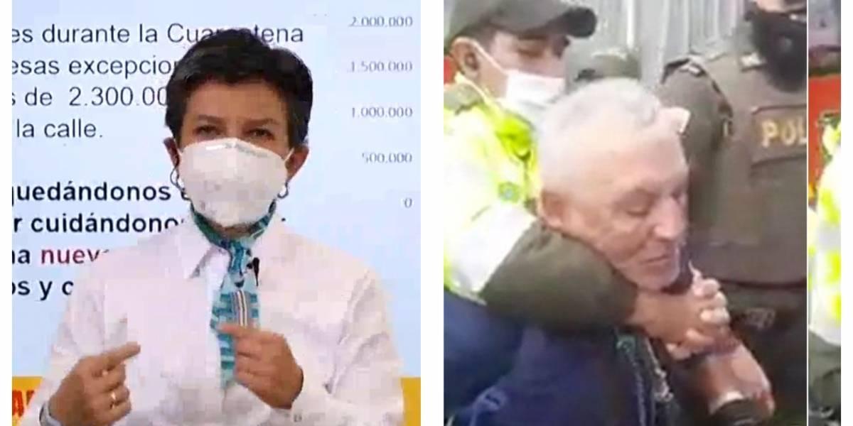 Citarán a Claudia López a control político por caso de agresión a vendedor