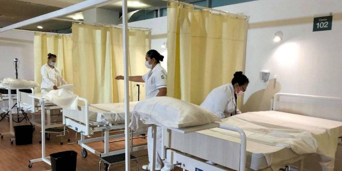 Reconversión hospitalaria del IMSS privilegió atención a Covid-19