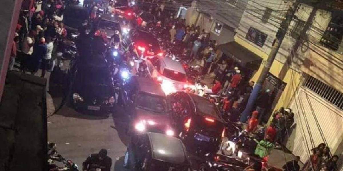 Bailes funk acontecem em São Paulo em meio a pandemia de covid-19