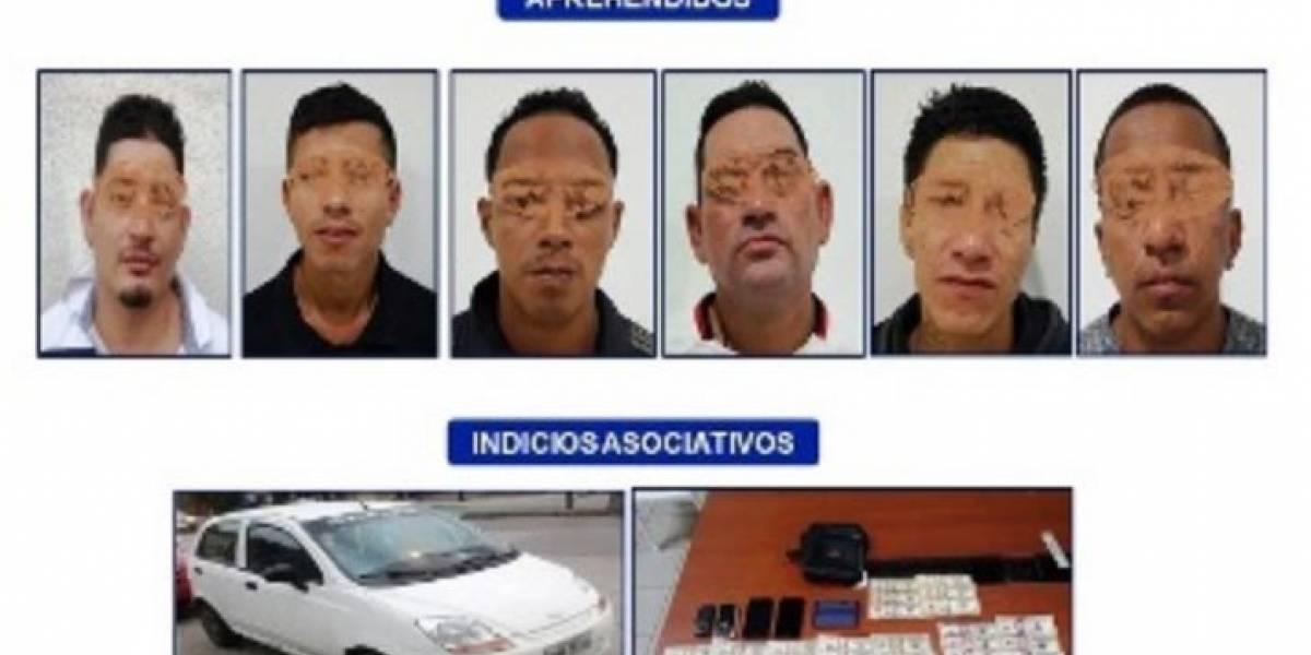 Operativo en Guayaquil deja a 6 presuntos narcotraficantes detenidos