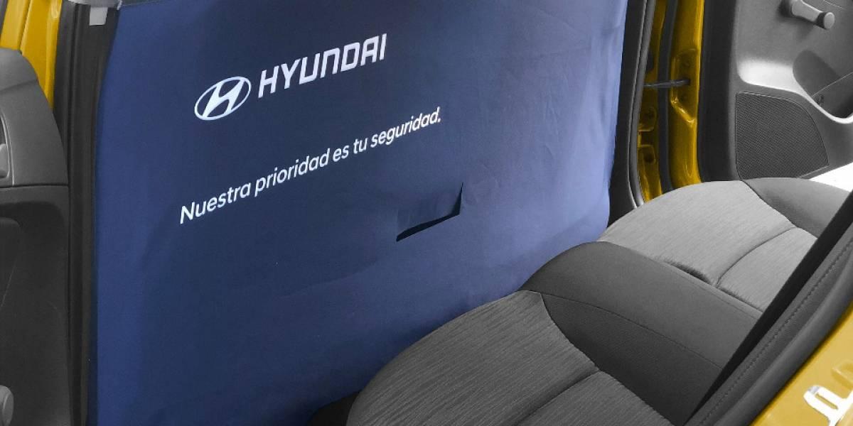 Hyundai entrega pantallas de separación que protegen del COVID-19 a taxistas y usuarios