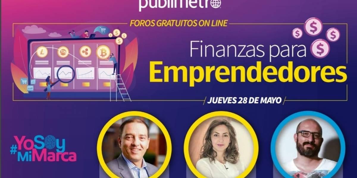 ¡No se pierda Finanzas Para Emprendedores, el primer conversatorio online gratuito de Publimetro en 2020!