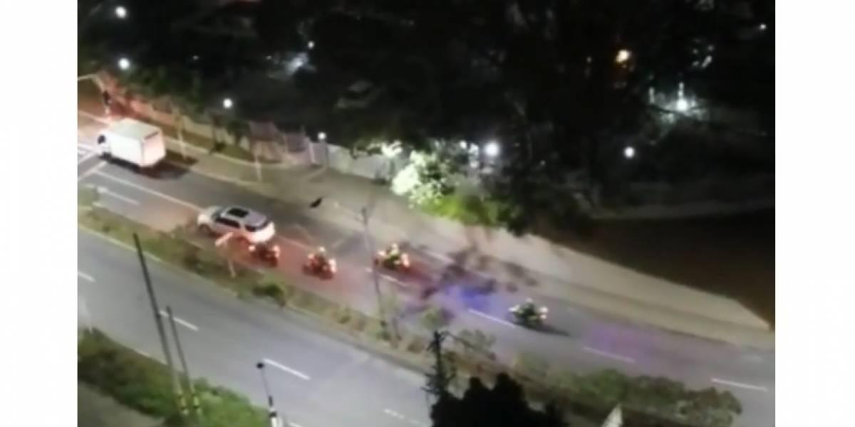 (Video) La verdad detrás de la persecución de la Policía con balacera en El Poblado