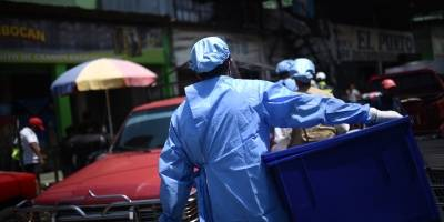 Pruebas Coronavirus en mercado La Terminal