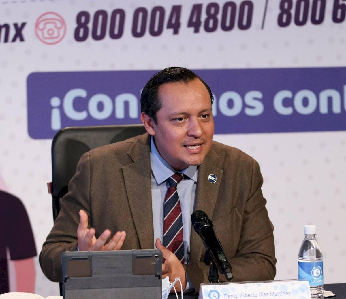 Daniel Díaz Martínez, Secretario de Salud de Guanajuato.