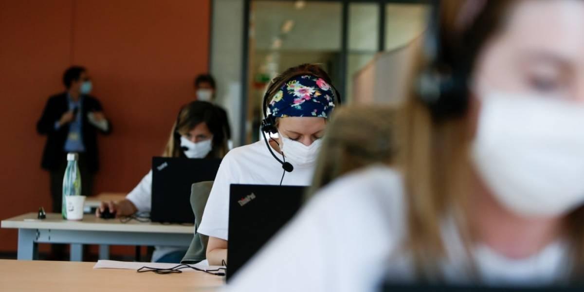 """""""Rastreador de COVID-19"""", el nuevo empleo a la sombra de la pandemia en Bélgica"""