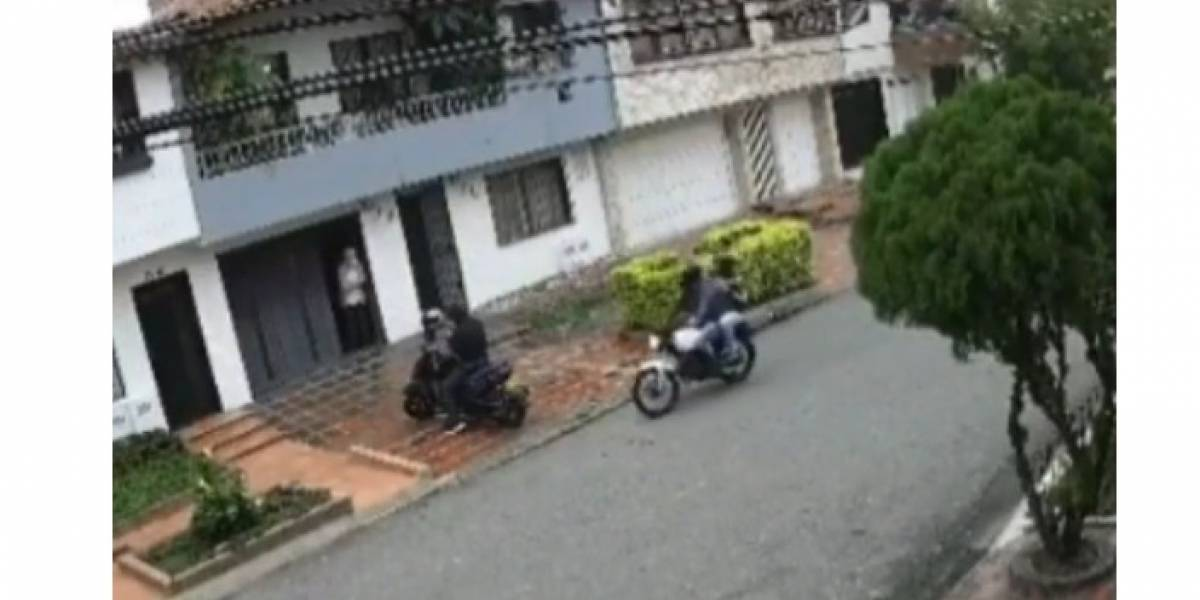 (Video) Así es como están robando en las calles a los ciudadanos en plena cuarentena