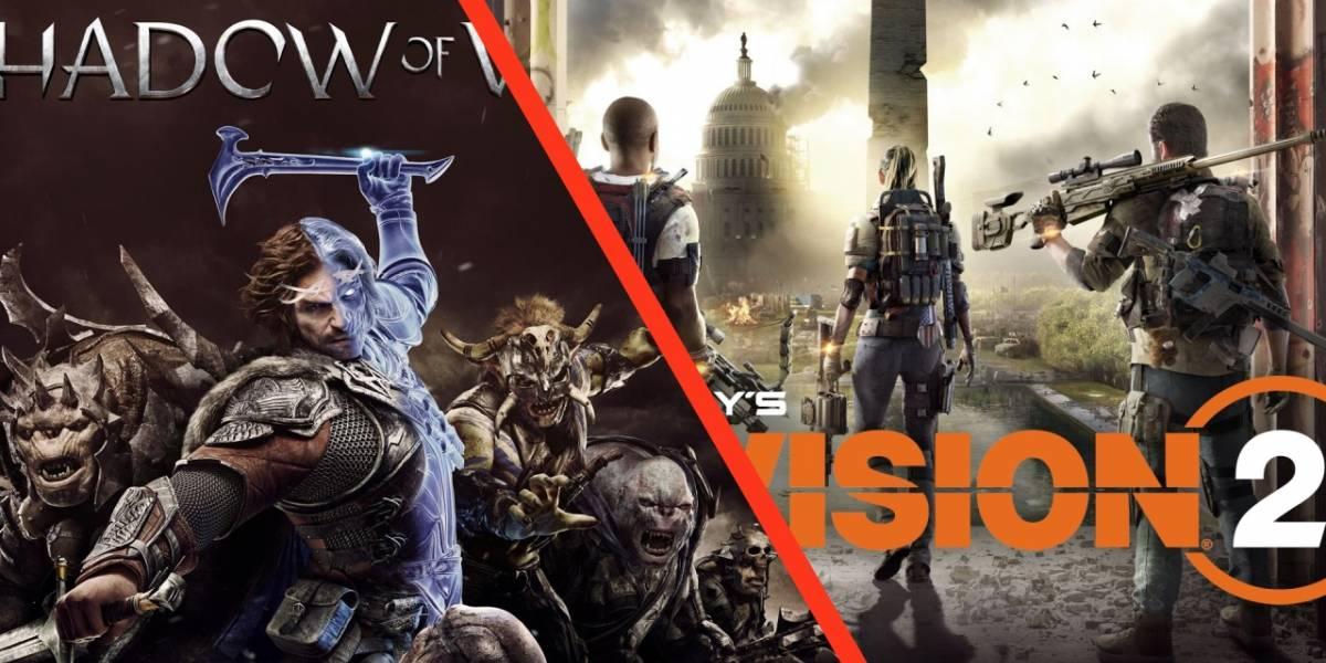 Xbox One: Shadow of War, The Division 2 y otros juegos que puedes comprar baratos para el fin de semana