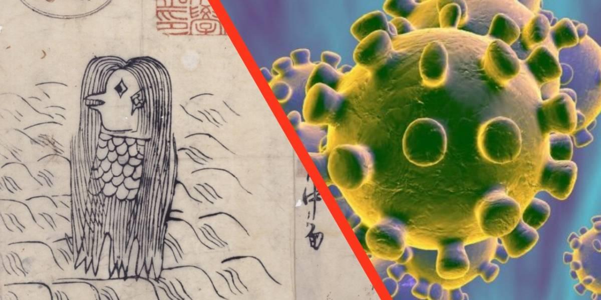 Coronavirus: un demonio japonés se ha vuelto el símbolo de lucha contra el virus
